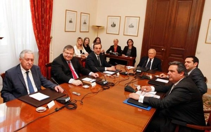 Στις 13.00 η σύσκεψη για υπηρεσιακή κυβέρνηση