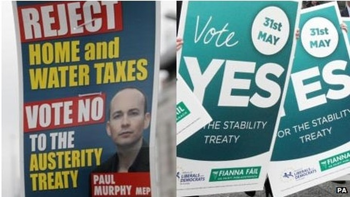 Δημοψήφισμα για το Δημοσιονομικό Σύμφωνο σήμερα στην Ιρλανδία
