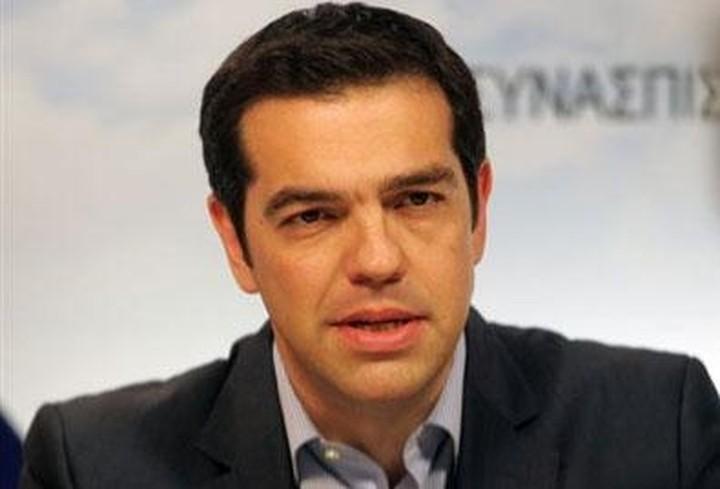 """Tσίπρας: Το δίλημμα είναι """"Μνημόνιο ή το πρόγραμμα του ΣΥΡΙΖΑ'"""