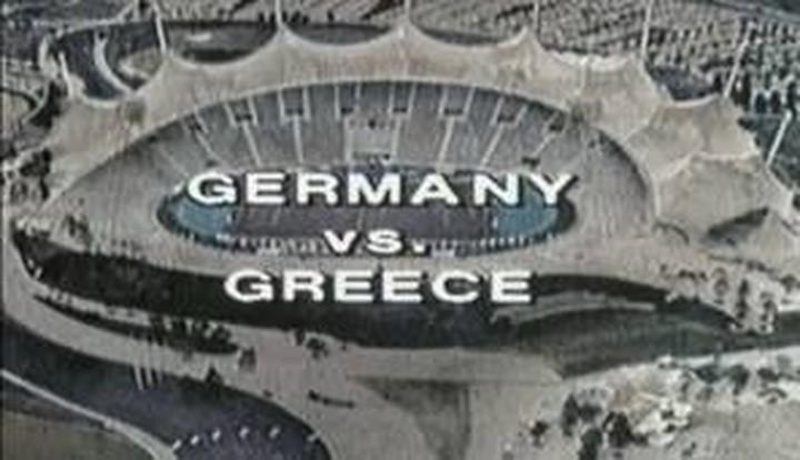 Ελλάδα-Γερμανία 1-0. Δείτε το video