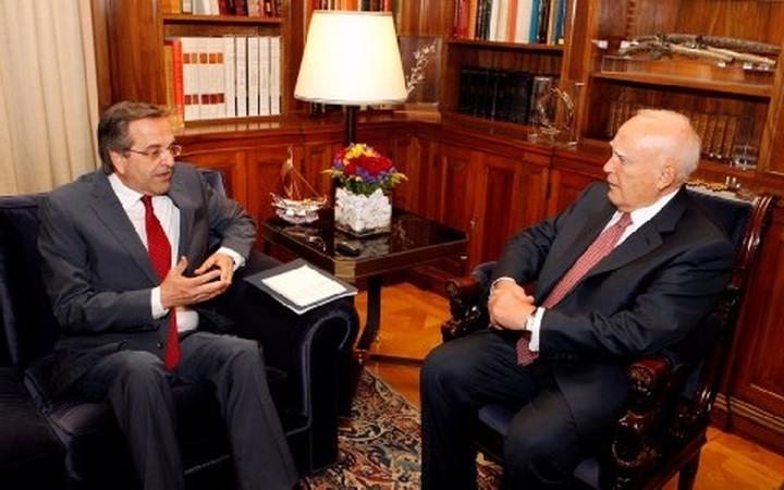 Ορκίζεται πρωθυπουργός ο Αντώνης Σαμαράς