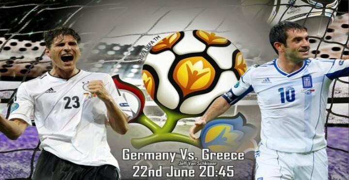 Οι Γερμανοί σχολάνε νωρίς αύριο γιατί έχουν αγώνα!