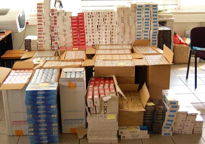 Κατασχέθηκαν 75.500 πακέτα τσιγάρα