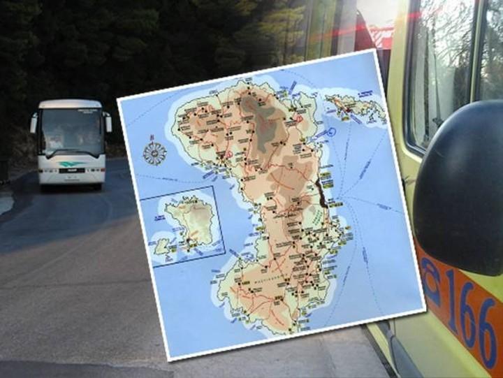 Τραγωδία με 3 νεκρούς στη Χίο - Λεωφορείο έπεσε σε χαράδρα