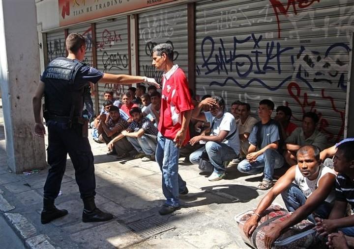 Επιχείρηση «Ξένιος Ζεύς» στο κέντρο της Αθήνας