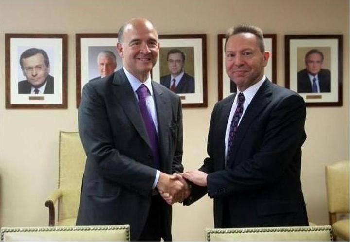 Στουρνάρας: «Συζητήθηκαν όλα τα ζητήματα» με τον γάλλο υπουργό Οικονομικών