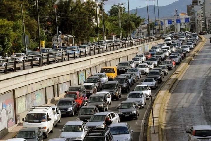 Αύξηση 6,7% στις κυκλοφορίες οχημάτων