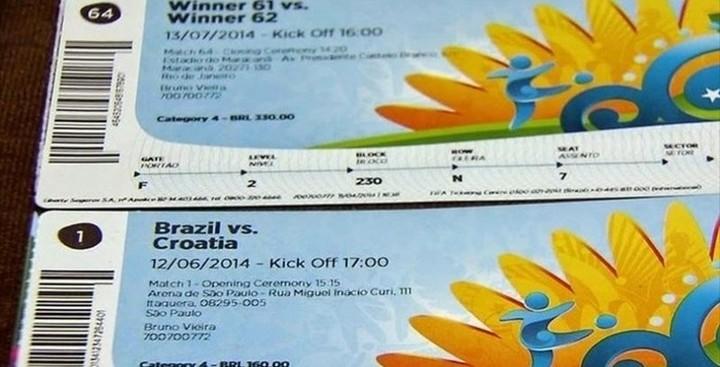 Πλαστά εισιτήρια στο Μουντιάλ