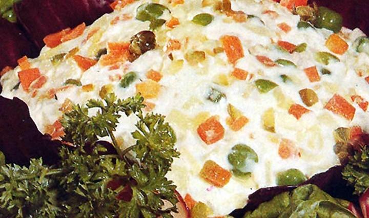 Ανάκληση εδέσματος «ρώσικης σαλάτας»