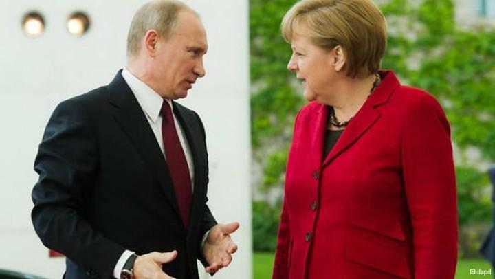 Πούτιν και Μέρκελ θα συναντηθούν στον τελικό του Μουντιάλ