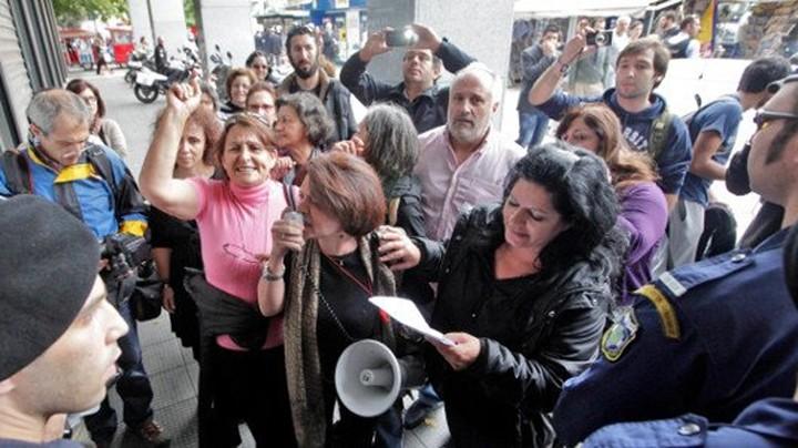 Συνέλαβαν απολυμένη καθαρίστρια