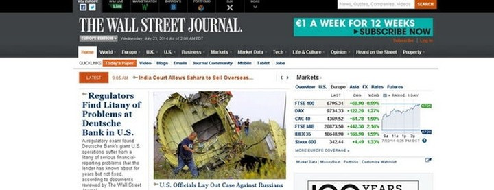 Θύμα ηλεκτρονικής επίθεσης η Wall Street Journal