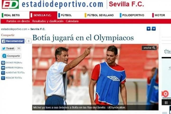 """""""Ο Μποτία θα παίξει στον Ολυμπιακό""""!"""
