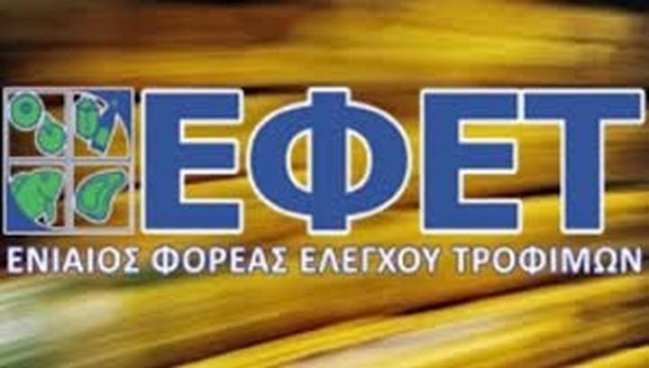 Νέα απόσυρση εμφιαλωμένου νερού από τον ΕΦΕΤ