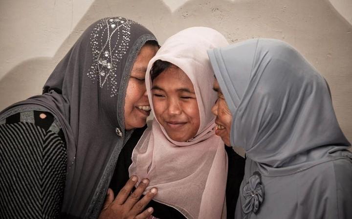Βρήκαν την κόρη τους, 10 χρόνια μετά το τσουνάμι του 2004