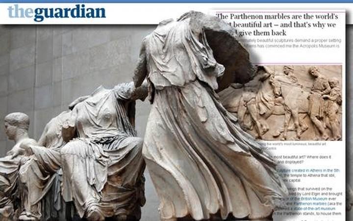 Guardian: Σώστε τα γλυπτά του Παρθενώνα από το Βρετανικό Μουσείο!