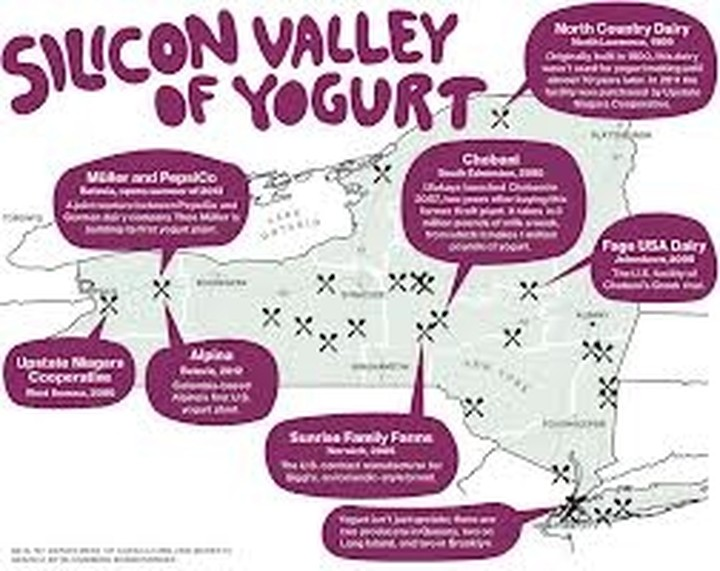 Επίσημο snack της Νέας Υόρκης το greek yogurt