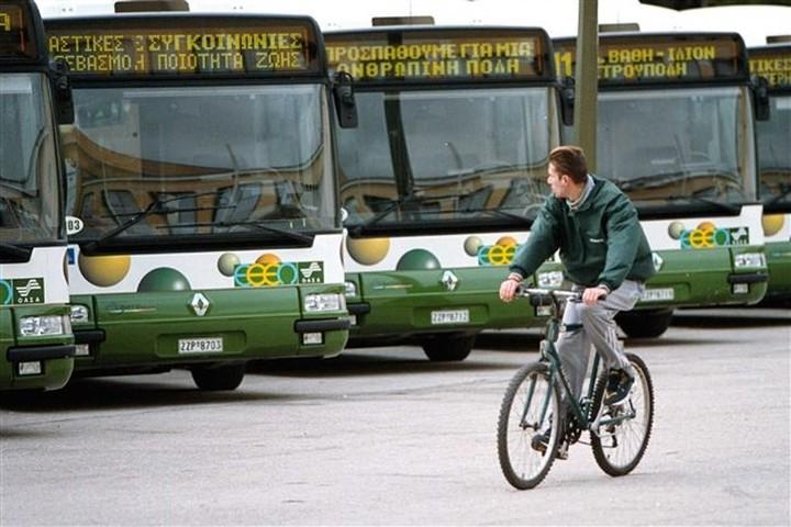 Τα νέα δρομολόγια σε λεωφορεία και τρόλεϊ από τη Δευτέρα