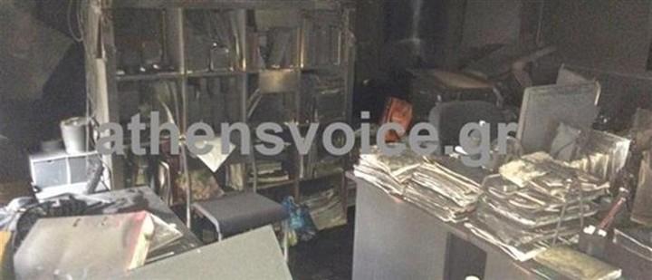Ανάληψη ευθύνης για την επίθεση στην «Athens Voice»