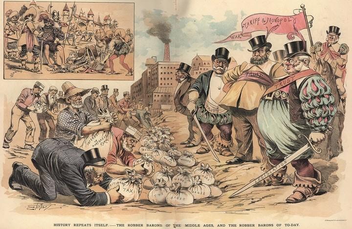 Οι αγορές, οι αριστοκράτες και οι «βρακοφόροι με τους ποδινές χωριάτες»