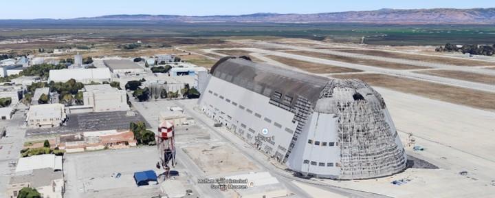 Η Google νοικιάζει αεροδρόμιο της NASA για διαστημική έρευνα και ρομποτική τεχνολογία