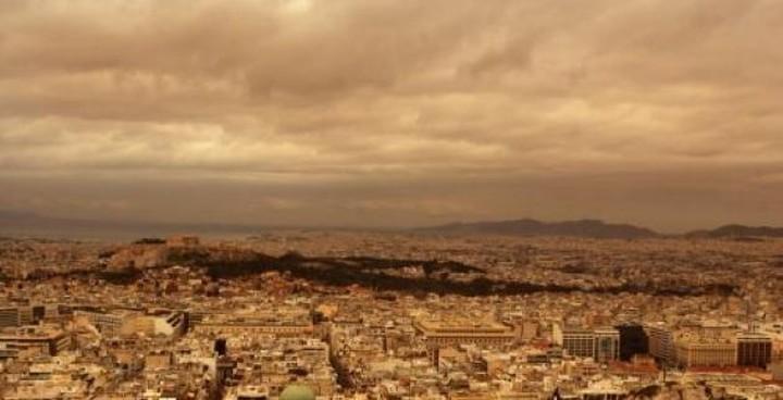 Αφρικανική σκόνη, βροχές και καταιγίδες