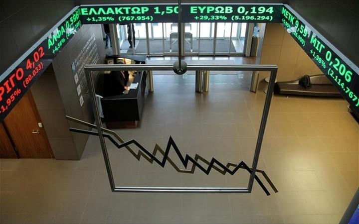 Μειωμένα κατά 57% τα καθαρά κέρδη του ομίλου Χρηματιστηρίου Αθηνών