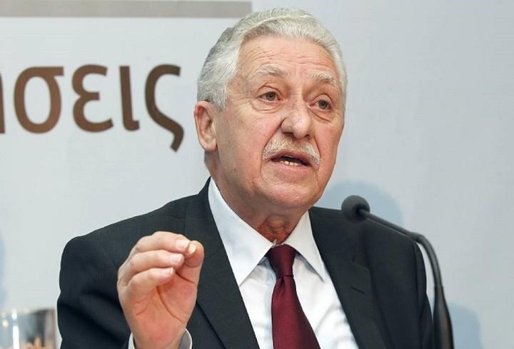 Κουβέλης: «Λυτρωτικές» για την κοινωνία οι πρόωρες εκλογές