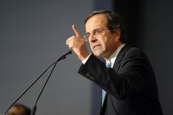 Μήνυμα Σαμαρά: Θετική ψήφος για την αποφυγή μιας πολιτικής περιπέτειας στη χώρα