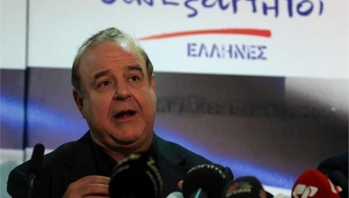 Π. Χαϊκάλης: Δεν κατηγορώ ούτε τον πρωθυπουργό, ούτε την κυβέρνηση