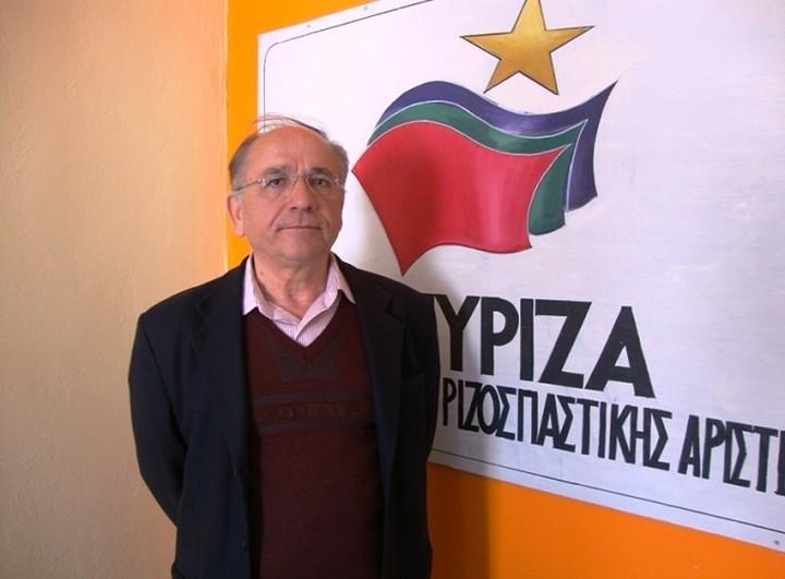 Γ. Τόλιος: Επίσημη θέση του ΣΥΡΙΖΑ η διακοπή πληρωμών τόκων