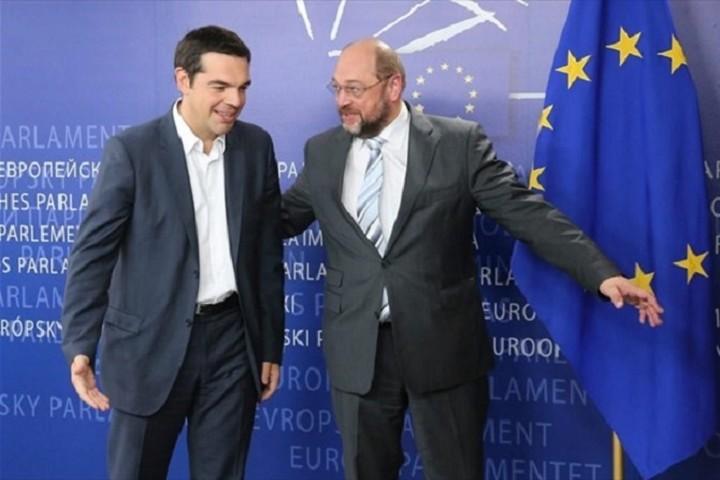 Συνάντηση Τσίπρα - Σουλτς: Αναζητάμε μια αμοιβαία επωφελή λύση