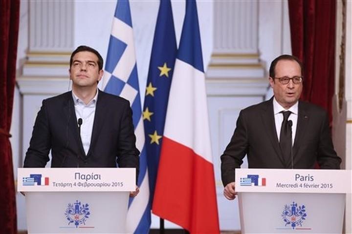 Φ. Ολάντ: Η Γαλλία στηρίζει την Ελλάδα