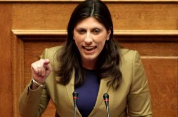 """""""Φωτιές"""" στη Βουλή ανάβουν οι καταγγελίες της Προέδρου Ζωής Κωνσταντοπούλου"""