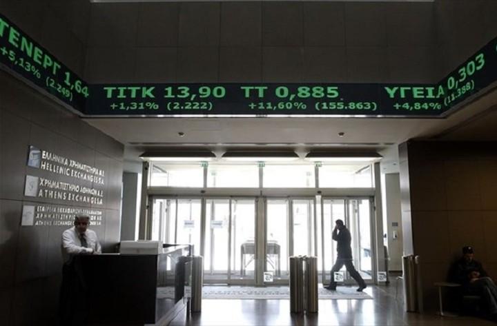 Απογειώθηκε το Χρηματιστήριο την Τρίτη - Έκλεισε με κέρδη 7,98%