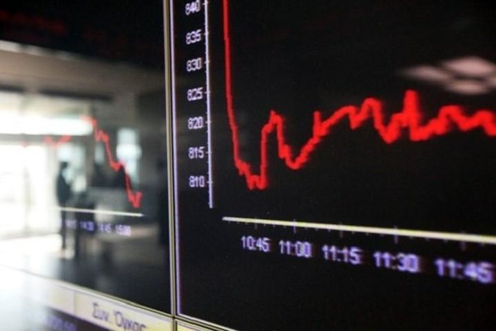 Πτώση 3,83% στο Χρηματιστήριο Αθηνών