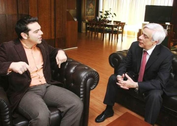 Τσίπρας: Ανάγκη για εθνική ενότητα - Παυλόπουλος: Κοινός αγώνας γιατί να βγει  ο τόπος από το τέλμα