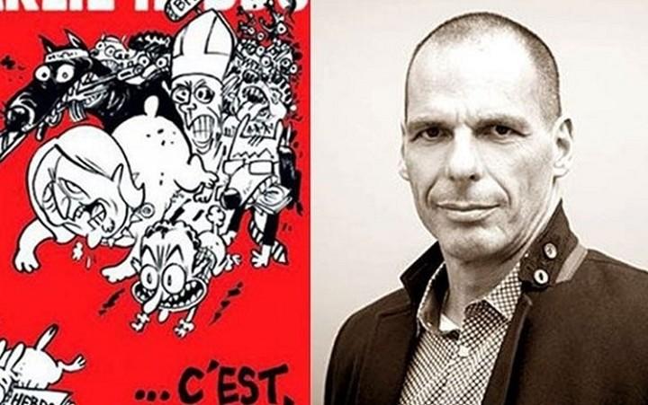 Συνέντευξη Βαρουφάκη στο Charlie Hebdo: «Πιστεύω πράγματι ότι σκοτώσαμε την τρόικα»