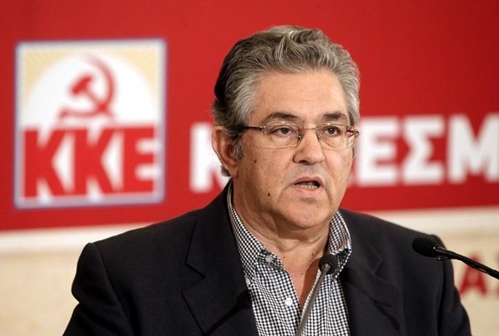 """ΚΚΕ: """"Διαφημιστική απάτη, η σκληρή διαπραγμάτευση του ΣΥΡΙΖΑ"""""""