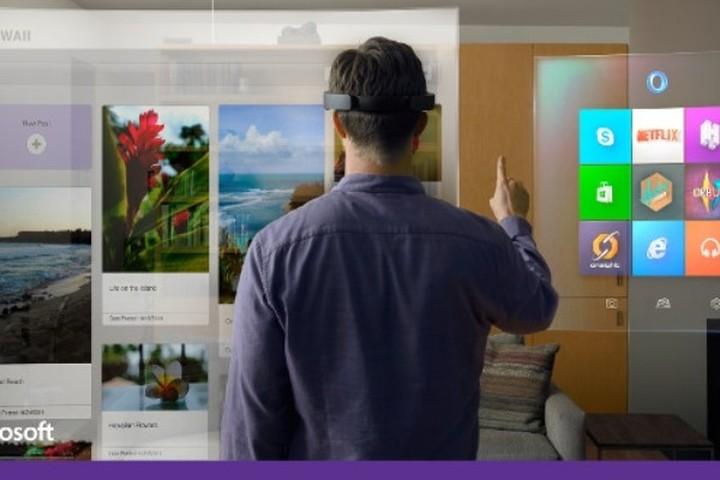 """Το μέλλον έτσι όπως διαγράφεται μέσα από τα """"μάτια""""...της Microsoft! (VIDEO)"""
