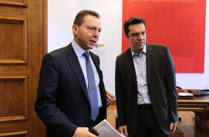 Τσίπρας για Στουρνάρα: Θα συμβάλλει τα μέγιστα για την αποκατάσταση της οικονομίας