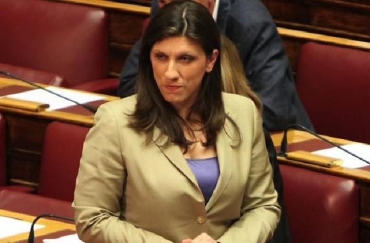 Ζήτημα εγκυρότητας νομοσχεδίων θέτει η Ζωή Κωνσταντοπούλου