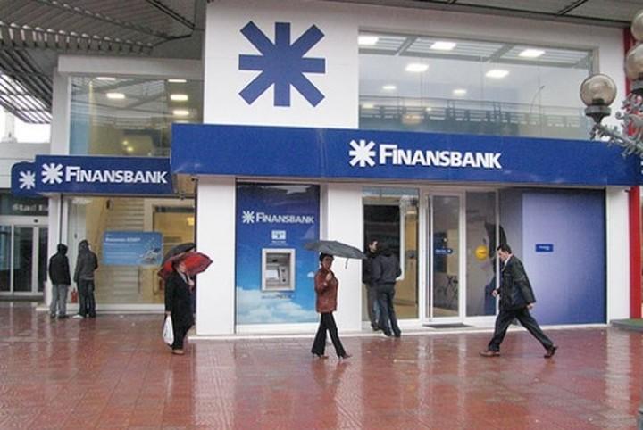 Πωλητήριο στην Finansbank από την Εθνική