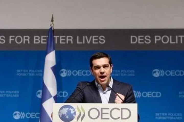 Αλ.Τσίπρας:«Είναι απολύτως ζωτικής σημασίας για την Ελλάδα το δημόσιο χρέος της να αναδιαρθρωθεί»