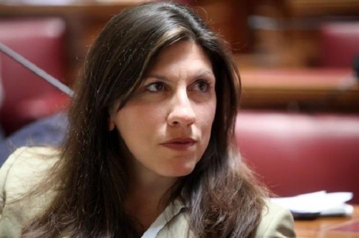 Κωνσταντοπούλου: Δεκτές μόνο τροπολογίες που θα είναι σύμφωνες με όσα ορίζει ο κανονισμός