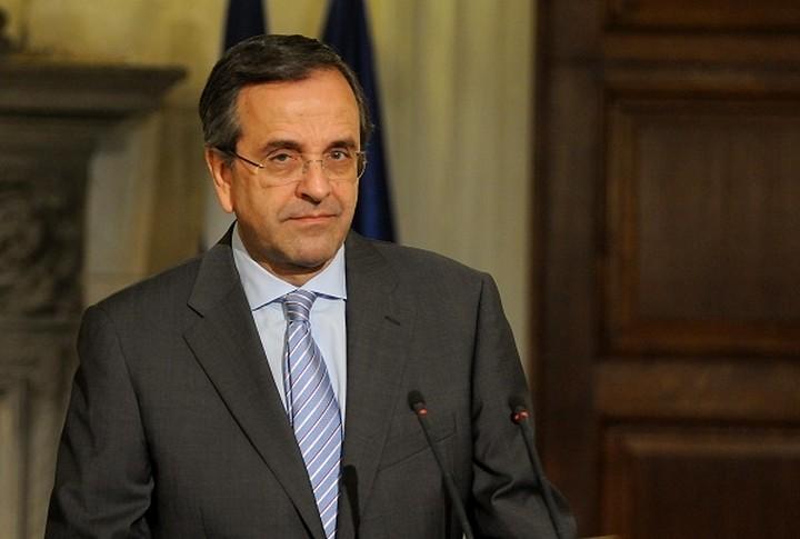 Σαμαράς:«Η ΝΔ θα ψηφίσει το νομοσχέδιο για την ανθρωπιστική κρίση»