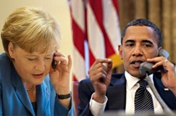 Τι είπε ο Ομπάμα στην τηλεφωνική επικοινωνία που είχε με τη Μέρκελ μια μέρα πριν τη Σύνοδο-Πηγές αναφέρουν:«Φορτισμένο» κλίμα