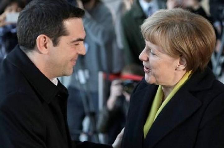 Θετικά αποτιμά η κυβέρνηση τη συνάντηση Μέρκελ - Τσίπρα