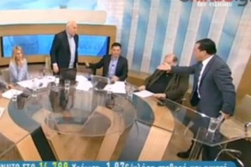 Τσακώθηκαν Παπαδάκης - Γεωργιάδης on air!!! (ΒΙΝΤΕΟ)