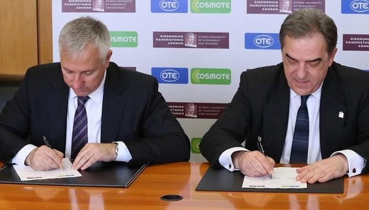 Συνεργασία ΟΤΕ-COSMOTE και ΟΠΑ για την έρευνα και την ανάπτυξη (Βίντεο)